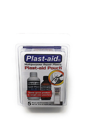 Plast-aid Pouches - 5 Single Use 0.15 oz ea