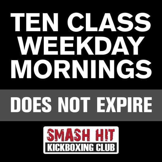10-Class Weekday Morning Pass