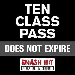 Outdoor 10-Class No Expiration Pass
