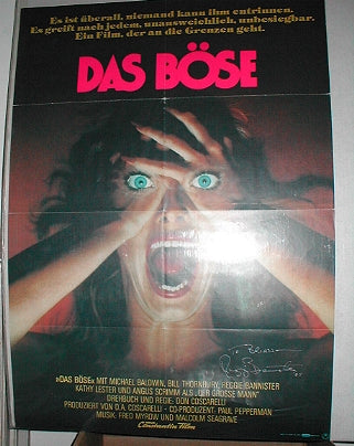 Phantasm Poster (German: Das Bose)