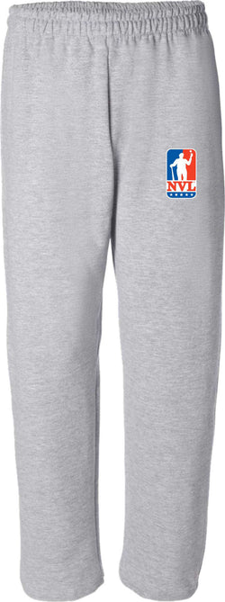 Open Bottom Grey Sweats