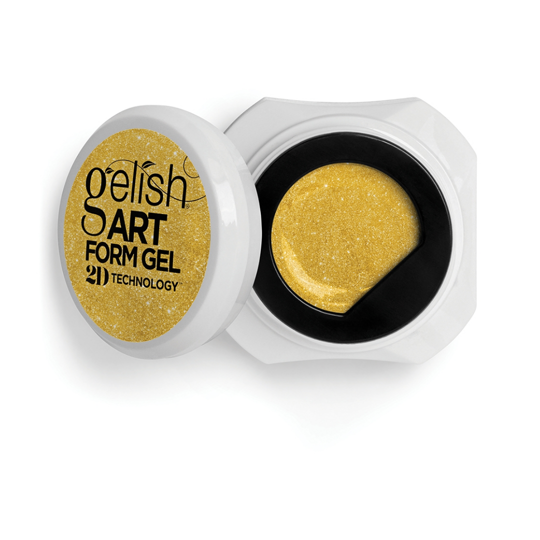 Gelish Art Form/ Gelpaint Effects Oro