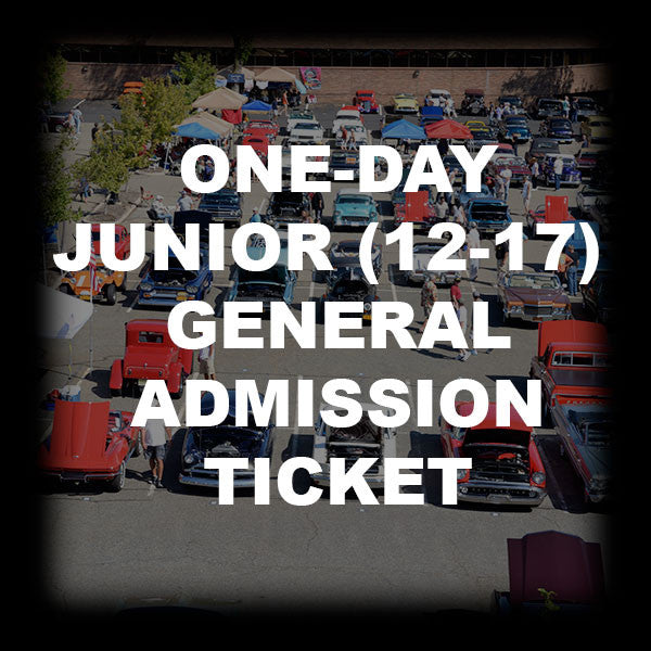16 - ONE-DAY JUNIOR (12-17) GENERAL ADMISSION TICKET