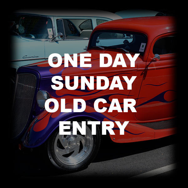 10 - ONE DAY SUNDAY OLD CAR ENTRY