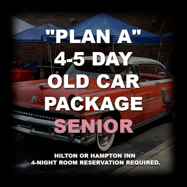02 - PLAN A SENIOR (66+) CAR PACKAGE
