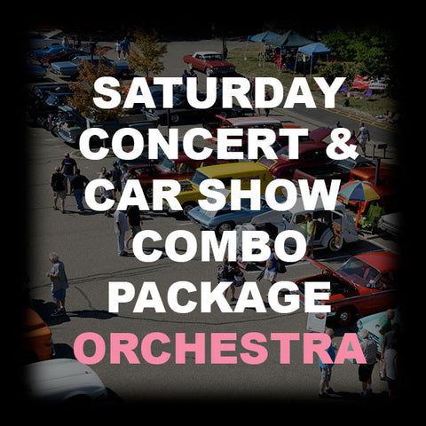 26 - SATURDAY CONCERT & CAR SHOW COMBO - ORCHESTRA
