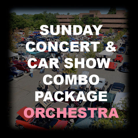 29 - SUNDAY CONCERT & CAR SHOW COMBO - ORCHESTRA