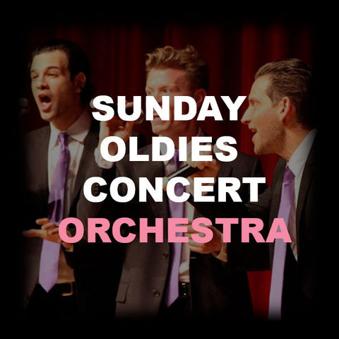 23 - SUNDAY OLDIES CONCERT - ORCHESTRA