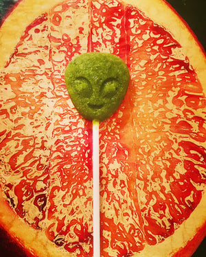 Weird Times Alien Lollipop