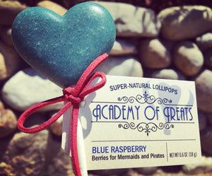 Sugar Free Blue Raspberry Lollipop