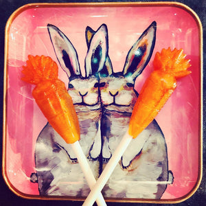 Love Like Rabbits Easter Lollipops