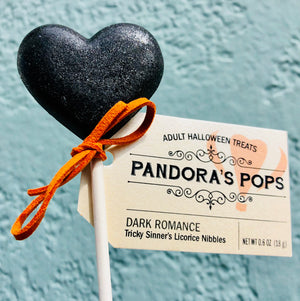 Adult Halloween Aphrodisiac Lollipop: Dark Romance