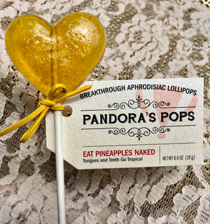Monthly Gift Box Club: Aphrodisiac Lollipops