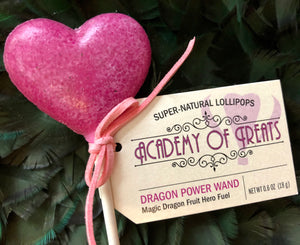 Sugar Free Dragon Power Wand Lollipop