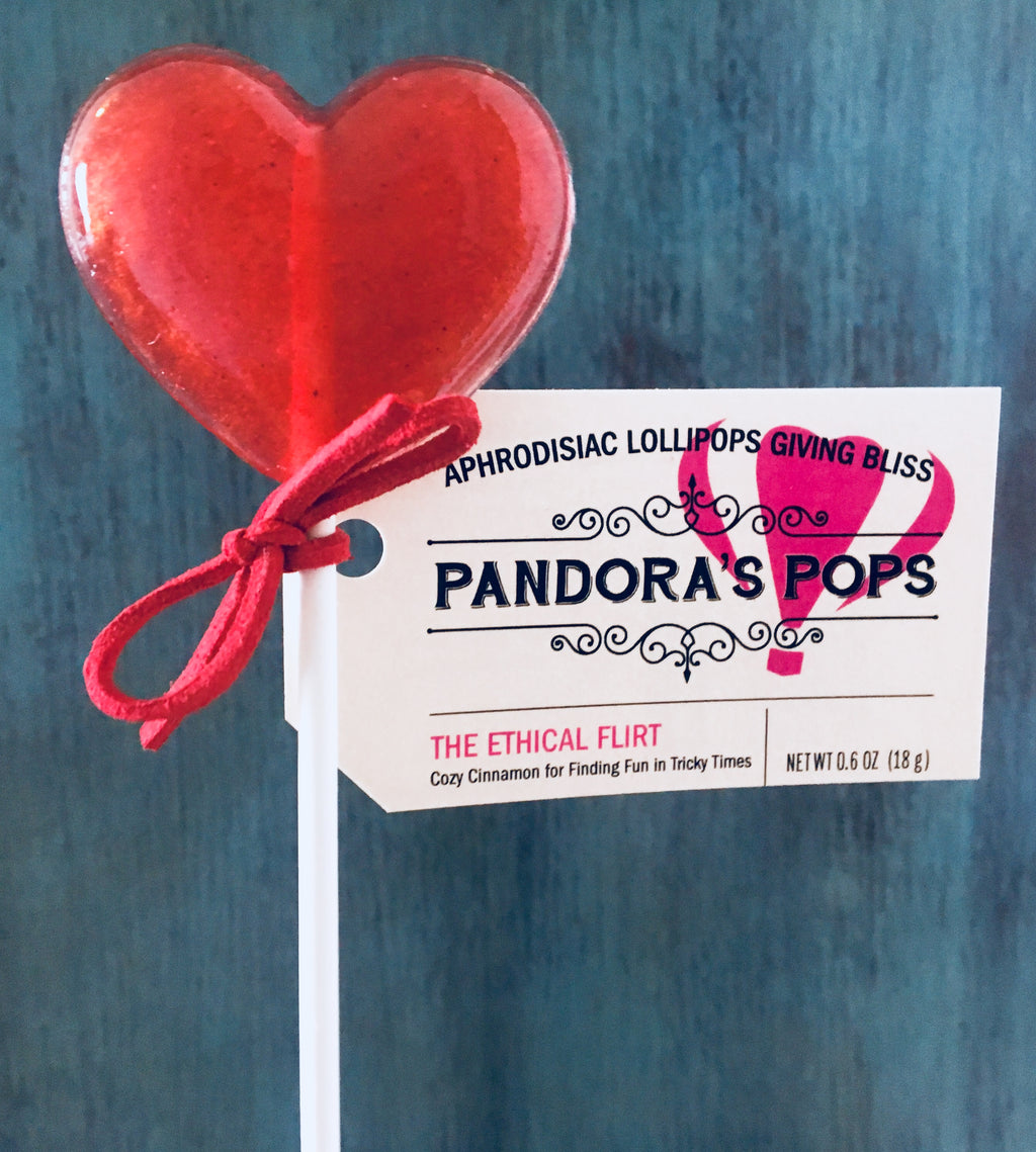 """The Ethical Flirt"" Aphrodisiac Lollipops"