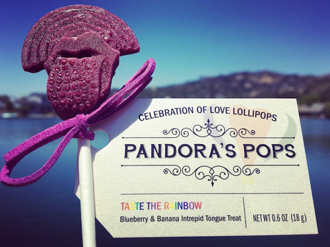Taste the Rainbow Aphrodisiac Lollipop
