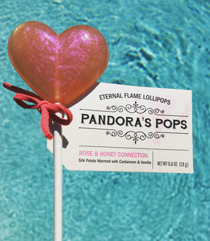 La Vie en Rose Lollipops