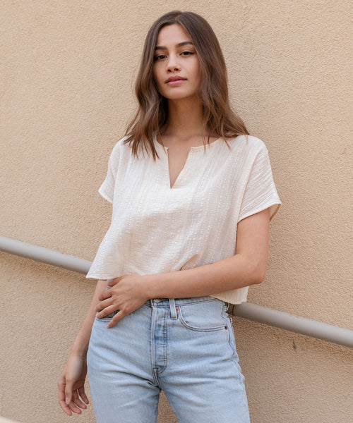 Pomona Crop Blouse