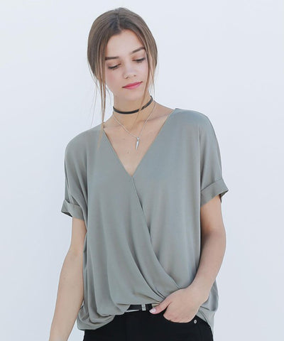 Nora Surplice Top