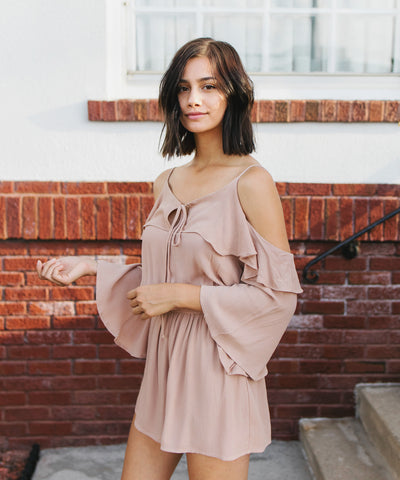 Arden Cold Shoulder Romper