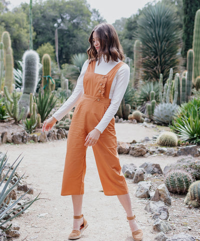 Edith Woven Jumpsuit