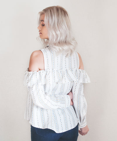 Laurel Button Down Top
