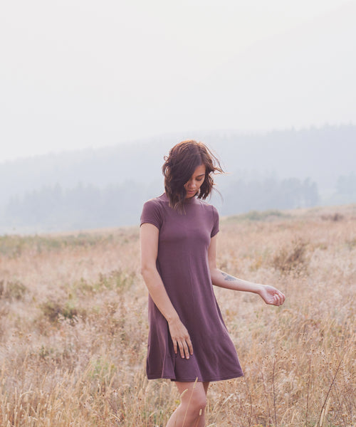 Willow Swing Dress in Marsala