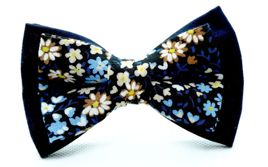 4006 - Brown/blue flower