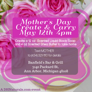 Mothers Day Create n Carry Gift Event