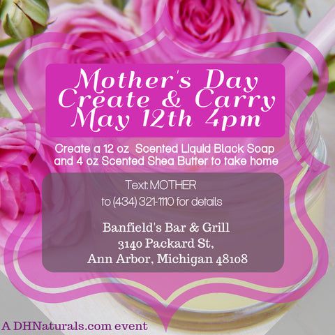 Mothers Day create n carry ann arbor mi