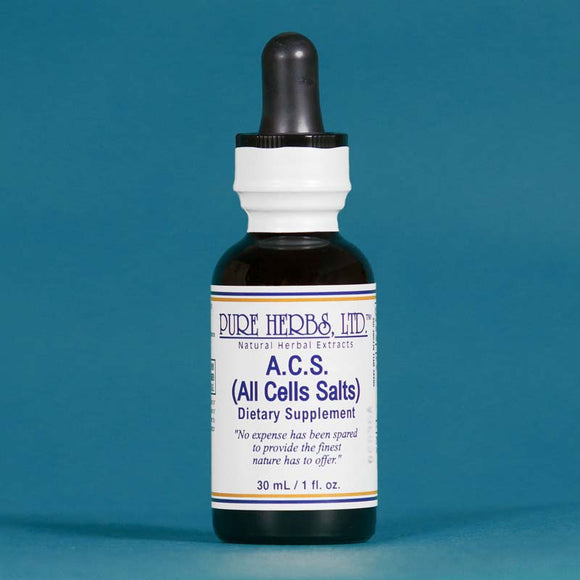 A.C.S. (All Cells Salts) - Pure Herbs, LTD PureHerbs - DH Naturals