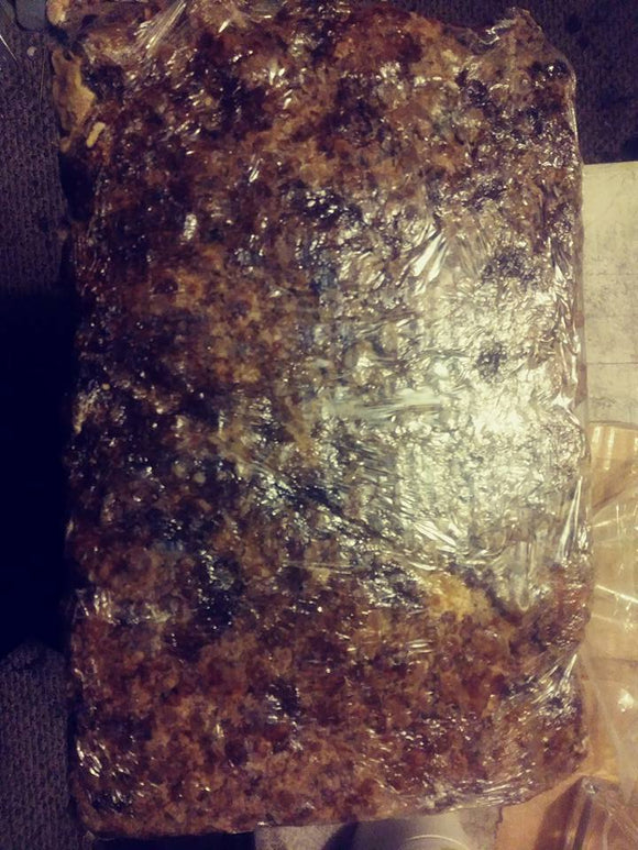 Raw African Black Soap - 10 lbs. Bulk