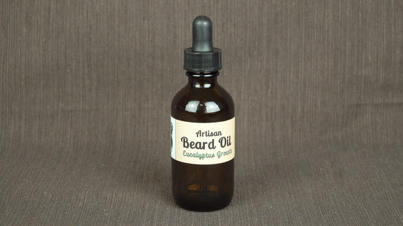 Beard Oil All Natural 2 oz