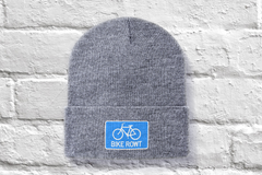Blue Beanie - fat biking, mountain biking, chilling out, perfect hat for all times of the year