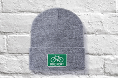 Green Beanie - fat biking, mountain biking, chilling out, perfect hat for all times of the year