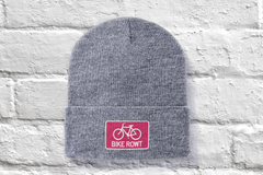 Pink Beanie - fat biking, mountain biking, chilling out, perfect hat for all times of the year