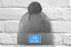 Blue Toque - fat biking, mountain biking, chilling out, perfect hat for all times of the year