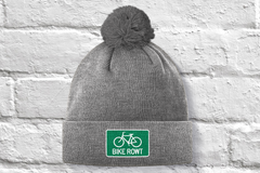 Green Toque - fat biking, mountain biking, chilling out, perfect hat for all times of the year