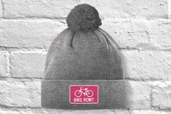 Pink Toque - fat biking, mountain biking, chilling out, perfect hat for all times of the year