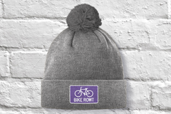 Purple Toque - fat biking, mountain biking, chilling out, perfect hat for all times of the year