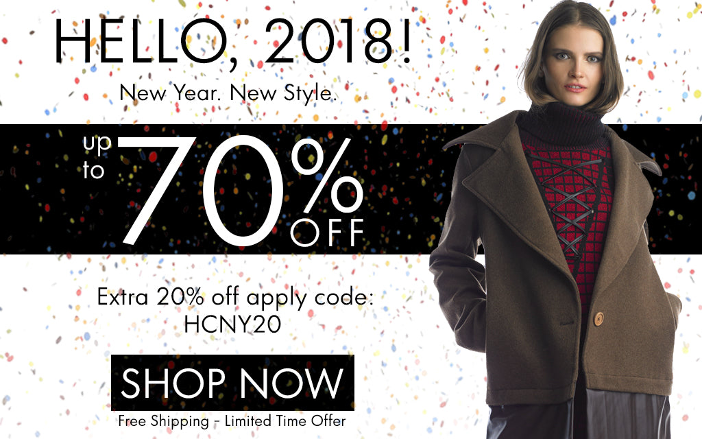 Happy New Year Sale: Get Up To 70% OFF + 20% OFF HNY Fashion!