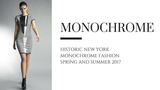 Monochrome Fashion for Spring & Summer