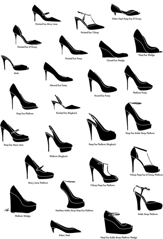 The Perfect Shoes for the Perfect Dress