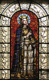 Sainte Clotilde Stained Glass Print by Historic New York