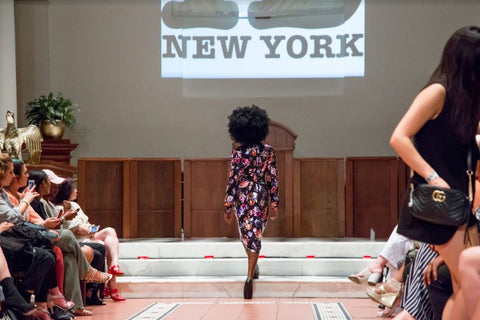Historic New York Women's Fashion & The Set NYC At Chelsea Fashion & Film Festival NYC Fall 2017