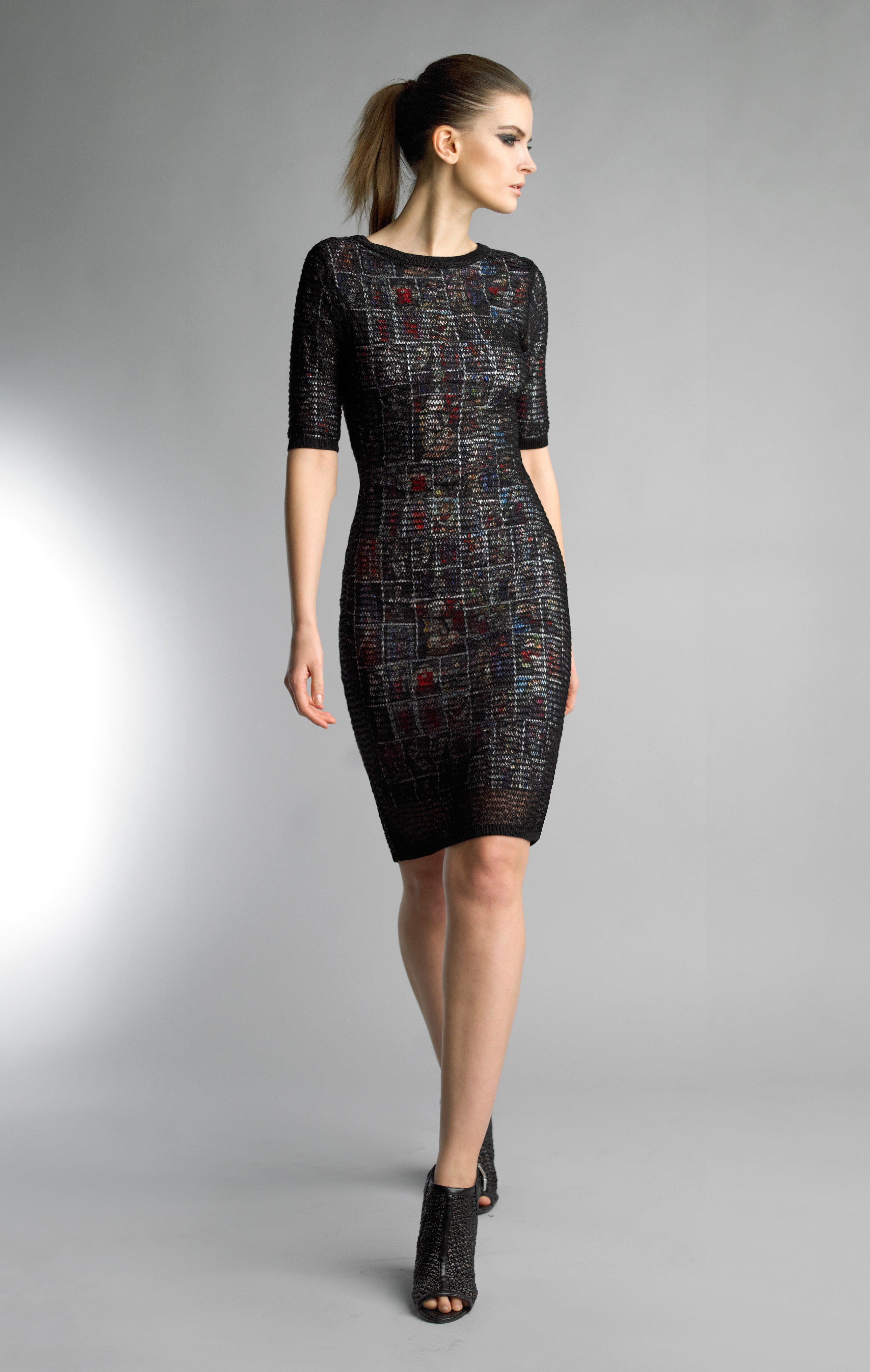 Historic New York Collection De Vitraux Dress Stained Glass Dress - Historic New York