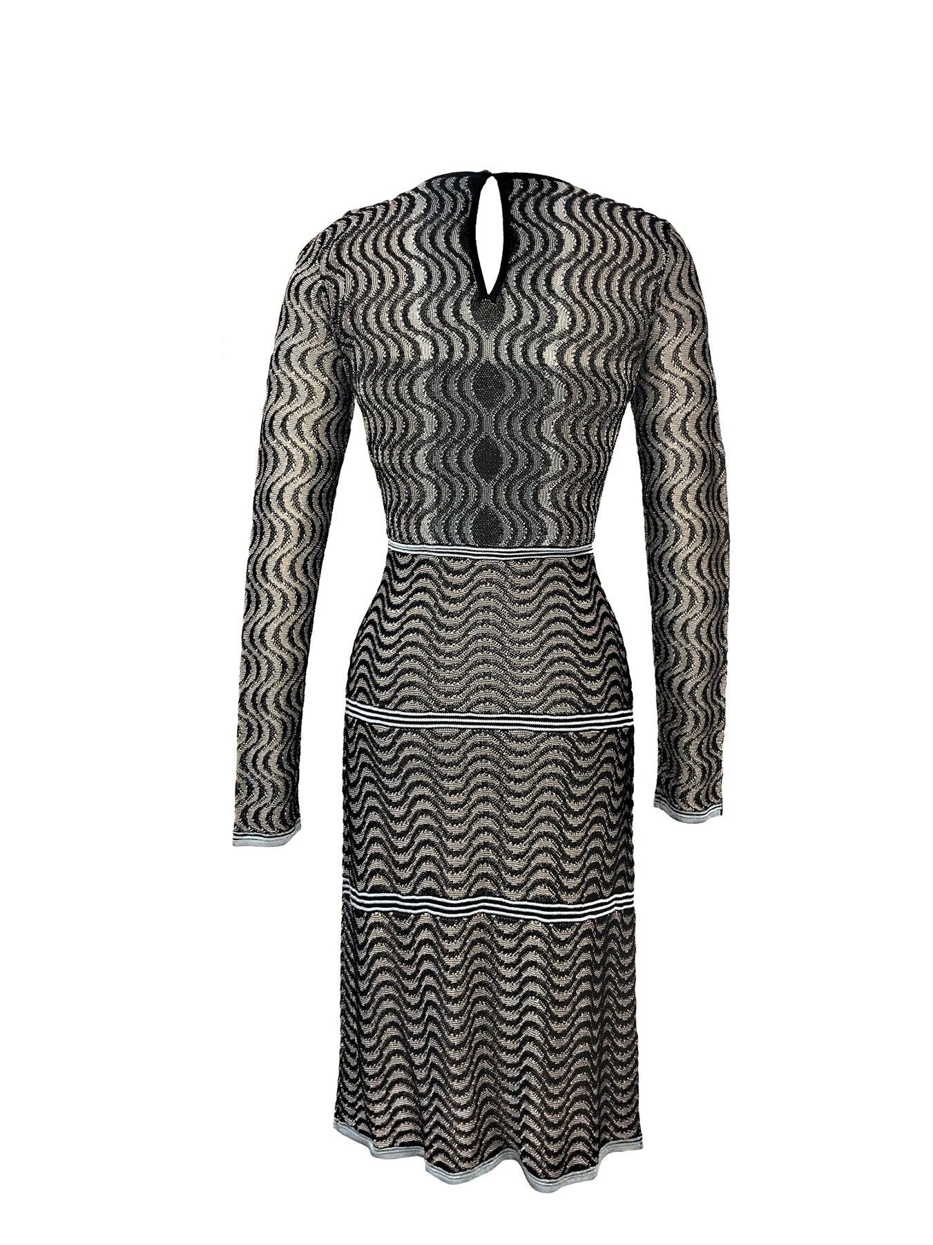 Historic New York Gradation Knit Dress - Historic New York