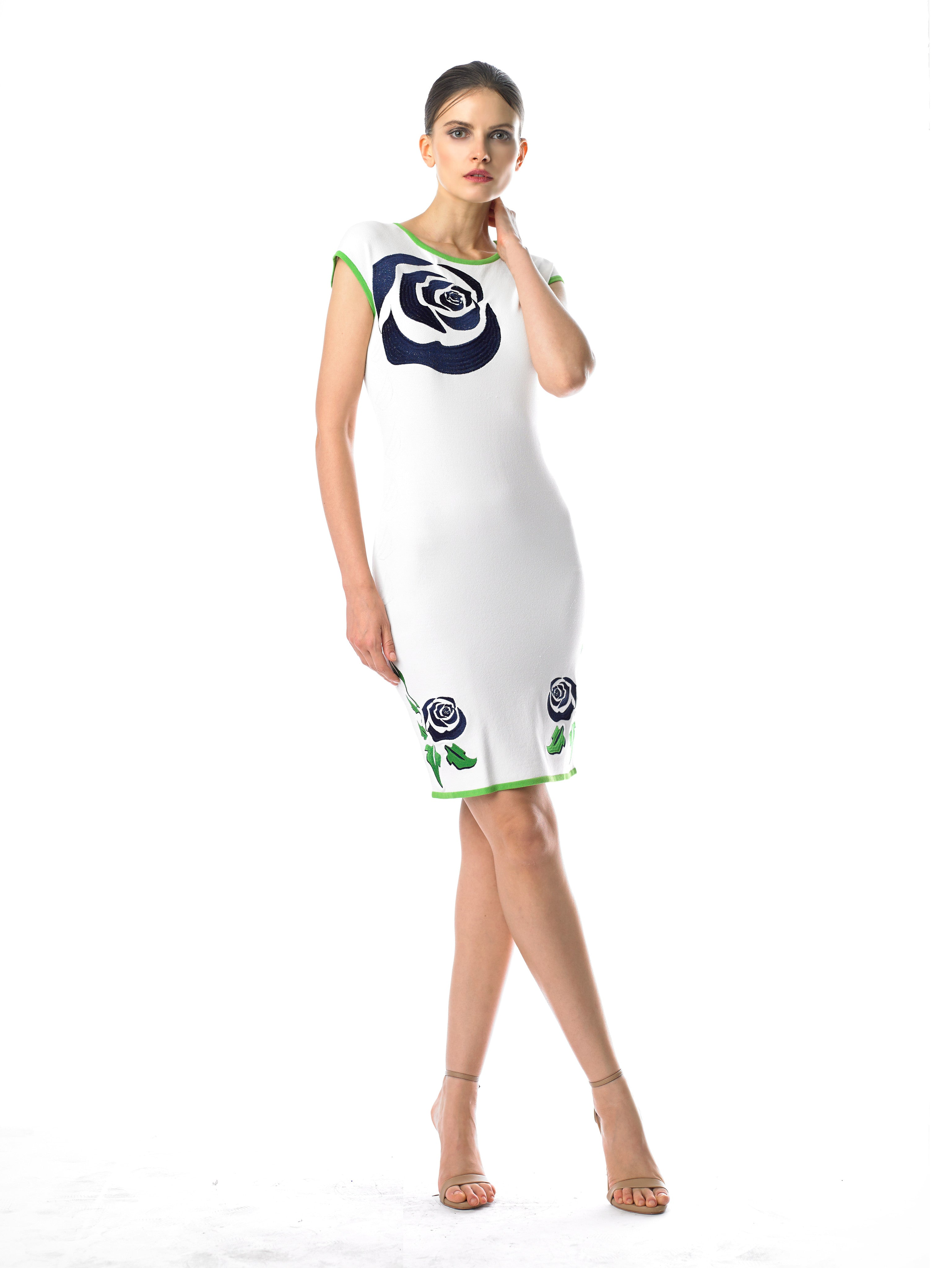 Historic New York La Rose Leaf Dress - Historic New York