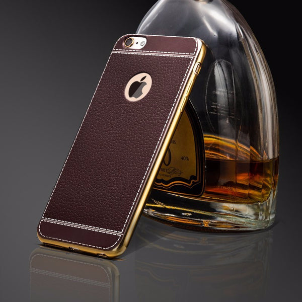 iPhone 7/8 Fashion style Retro PU Leather Cases Luxury Phone Cover - ELARIC Collection