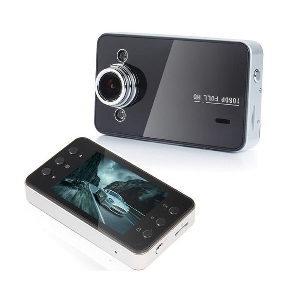 "Car DVR HDMI Recorder Dash Cam 2.4"" LCD SCREEN K6000 Full HD 1080p - ELARIC Collection"